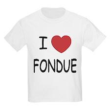 I heart fondue T-Shirt