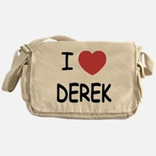 I heart DEREK Messenger Bag