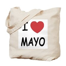 I heart mayo Tote Bag