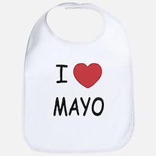 I heart mayo Bib