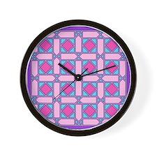 Lattice #1 Wall Clock