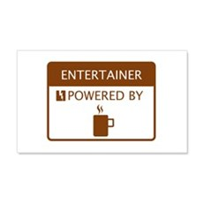 Entertainer Powered by Coffee Wall Decal