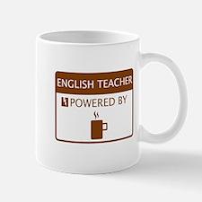 English Teacher Powered by Coffee Mug