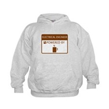 Electrical Engineer Powered by Coffee Hoodie