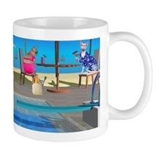 Belly Flopping Devon Mug