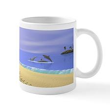Devon Paw Prints Mug