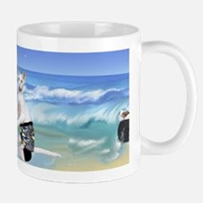 Devons Surfing Small Small Mug