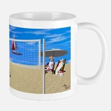 Devon Beach Volleyball Mug