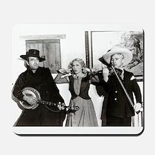 Fairbanks, Pickford, Chaplin Humorous Mousepad