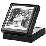 Douglas Fairbanks and Mary Pickford Keepsake Box