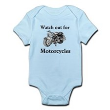 Watch out for motorcycles Infant Bodysuit