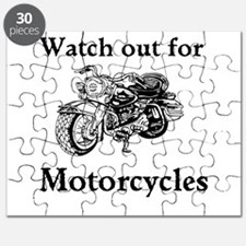 Watch out for motorcycles Puzzle