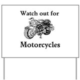 Motorcycle safety Yard Signs