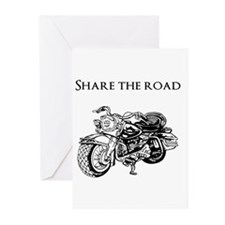 Share the road Greeting Cards (Pk of 20)