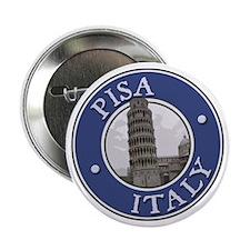 """Piza, Italy 2.25"""" Button"""