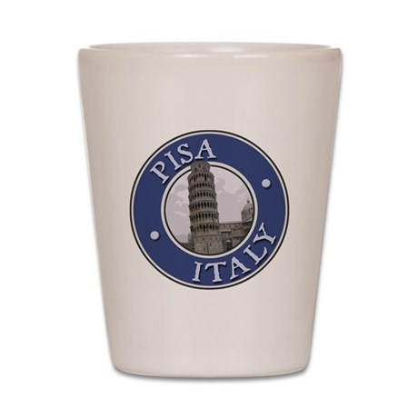 Piza, Italy Shot Glass
