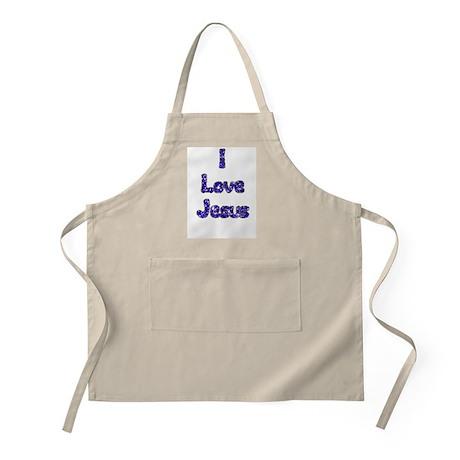 I love Jesus BBQ Apron