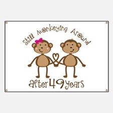 49th Anniversary Love Monkeys Banner