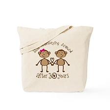 50th Anniversary Love Monkeys Tote Bag