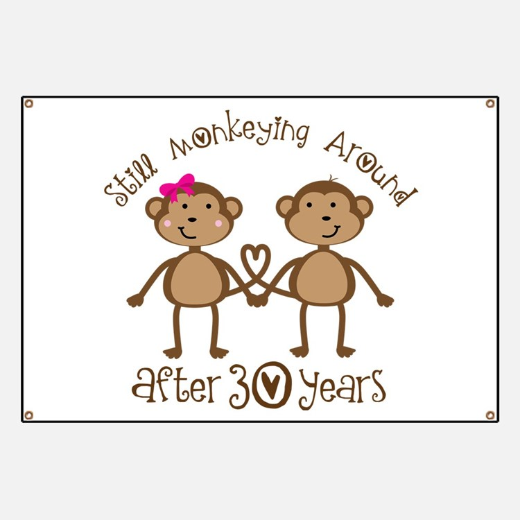 50th Anniversary Love Monkeys Banner