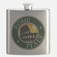 Rome, Italy Flask