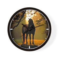 Horse Wall Clock 1
