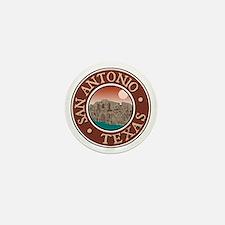 San Antonio Mini Button