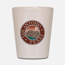 San Antonio Shot Glass