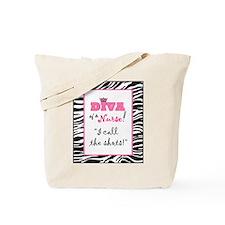 Diva of a Nurse! Tote Bag