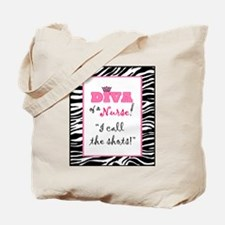 Diva of a Nurse! Tote Bag