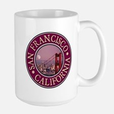 San Francisco 3 Large Mug