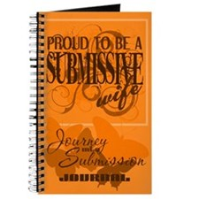 Proudly Submissive (Orange) Journal