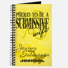 Proudly Submissive (Yellow) Journal