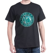 Seattle - Distressed T-Shirt