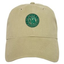 Seattle - Distressed Baseball Baseball Cap