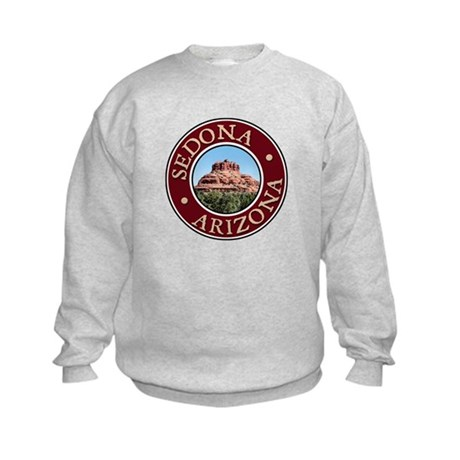 Sedona - Bell Rock Kids Sweatshirt