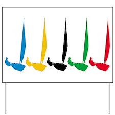 Sailing Regatta Yard Sign