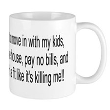 When I Get Old Small Mugs