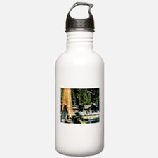 Retro RedWood Park Water Bottle
