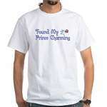 Found My Prince Charming White T-Shirt