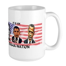 Obama-Nation Flag Mug