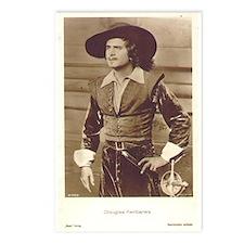 Douglas Fairbanks Photo Postcards (Package of 8)