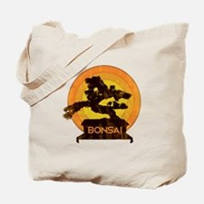 Bonsai Retro Tote Bag