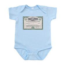 PENNSYLVANIA RR STOCK CERTIFICATE Infant Bodysuit