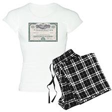 PENNSYLVANIA RR STOCK CERTIFICATE Pajamas