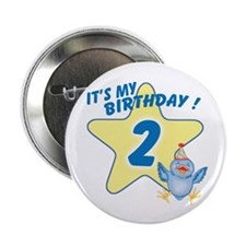 Birthday Star 2 Button