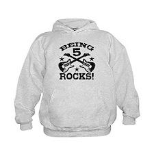 Being 5 Rocks Hoodie