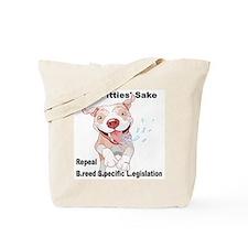 For Pitties' Sake Repeal BSL Tote Bag