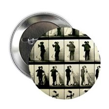 "Vintage Dance Sequence 2.25"" Button"