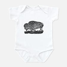B@W Buffalo Infant Bodysuit